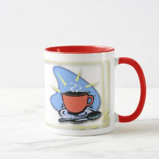 Coffee - Cup, Saucer, Spoon Design Coffee Mugs