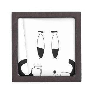 coffee cup sleepy jewelry box