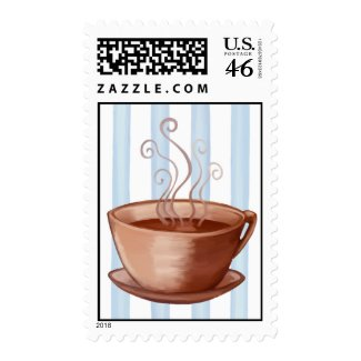 Coffee Cup Stamp stamp