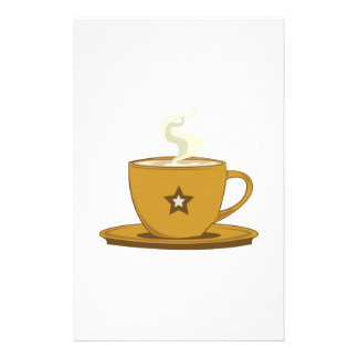 Coffee Cup Stationery Design
