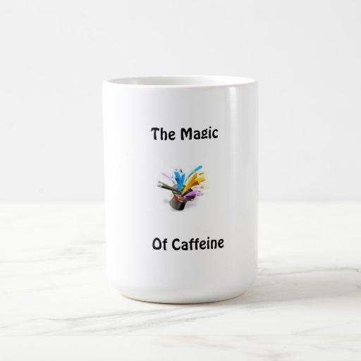 Coffee Cup(The Magic Of caffeine) Coffee Mugs