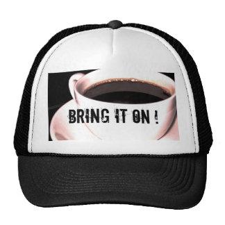 Coffee Cup Trucker Cap Trucker Hat