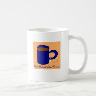 Coffee Cup with Coffee Cup with Pearl Earring Classic White Coffee Mug