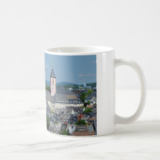 Coffee cup with the city opinion of victories