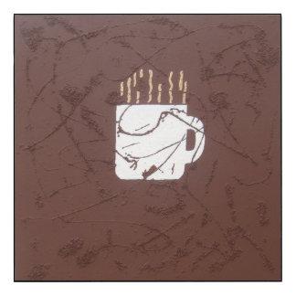 Coffee Cup Wood Wall Art