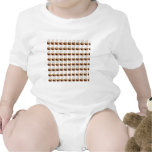 Coffee Cups Background Baby Bodysuit