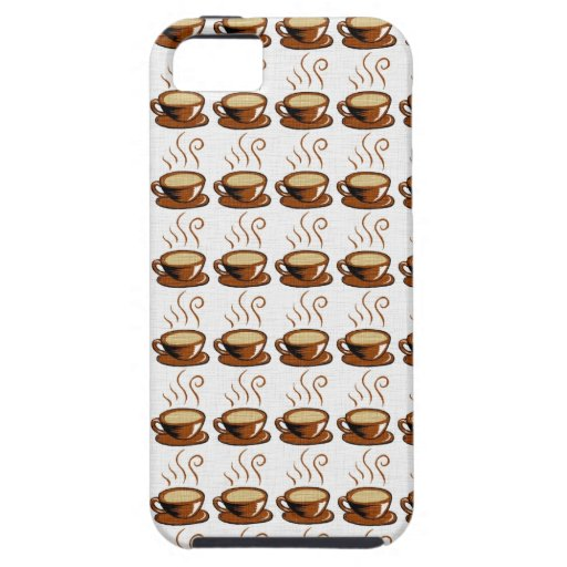Coffee Cups Background iPhone 5 Covers