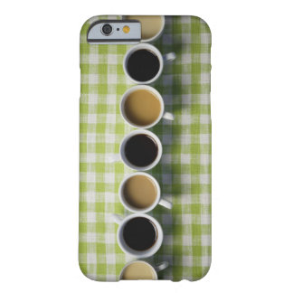 Coffee cups barely there iPhone 6 case