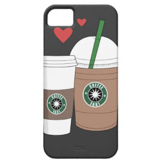 Coffee cups in love! iPhone SE/5/5s case