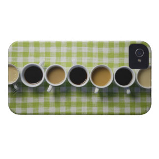 Coffee cups iPhone 4 case