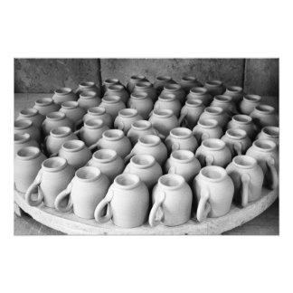 Coffee cups photo print