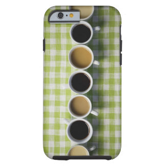 Coffee cups tough iPhone 6 case