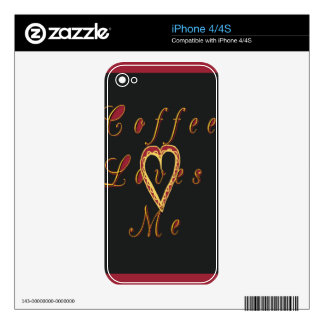 Coffee Customize Product iPhone 4S Decals