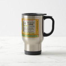 Coffee Customizeables Prescription Rx Travel Mug at Zazzle