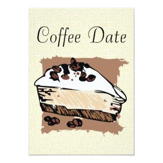 Coffee Date Card