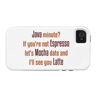 Coffee Date Case-Mate iPhone 4 Cover