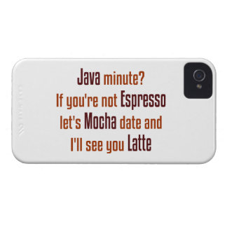 Coffee Date iPhone 4 Case-Mate Cases