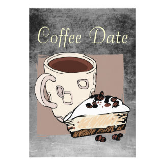 Coffee Date Custom Invite