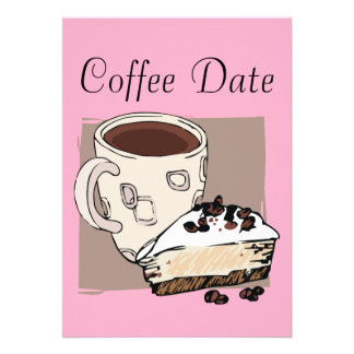 Coffee Date Invitations