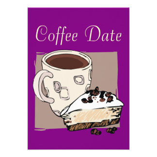 Coffee Date Invites