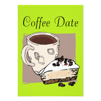 Coffee Date Personalized Announcement