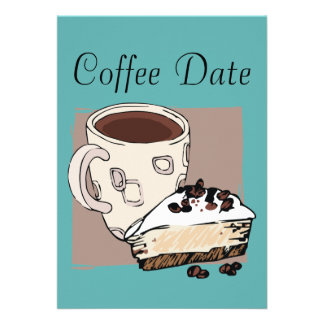 Coffee Date Personalized Invite