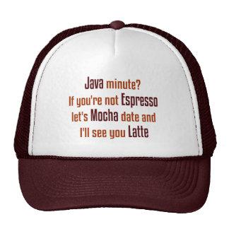 Coffee Date Trucker Hat