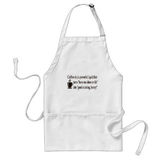 Coffee Defined Adult Apron