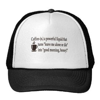 Coffee Defined Hats