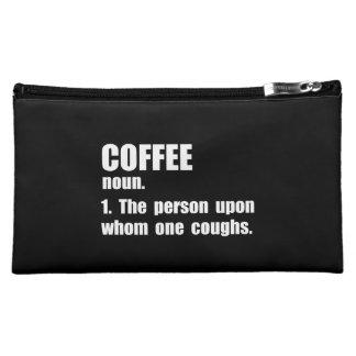 Coffee Definition Makeup Bag