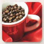 Coffee design beverage coaster