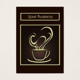 Coffee Design Business Card