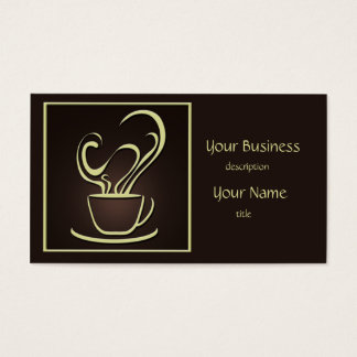 Coffee Design Business Card 2