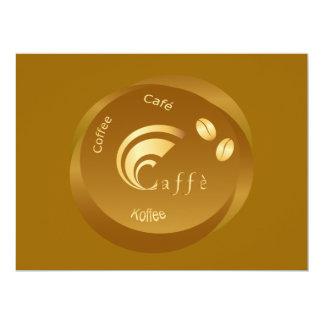 coffee design card