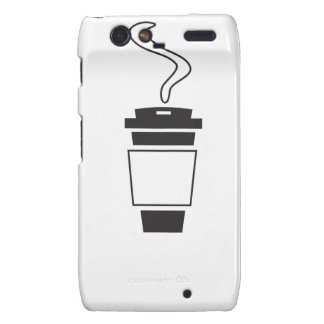 coffee Design Motorola Droid RAZR Covers