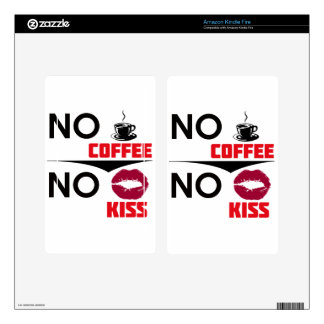 coffee design kindle fire decal