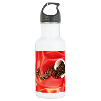 Coffee design stainless steel water bottle