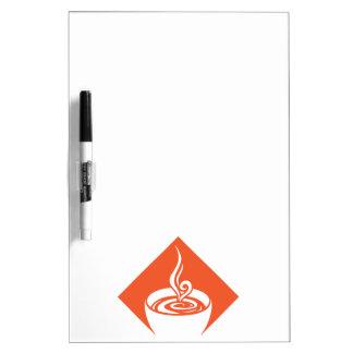 coffee diamond dry erase board