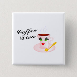 Coffee Diva Button