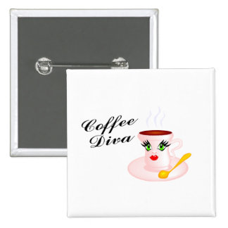 Coffee Diva Button