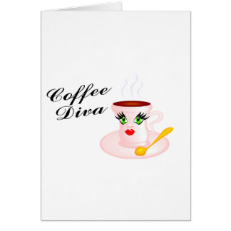 Coffee Diva Card