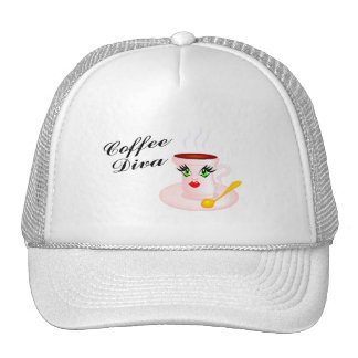 Coffee Diva Mesh Hat