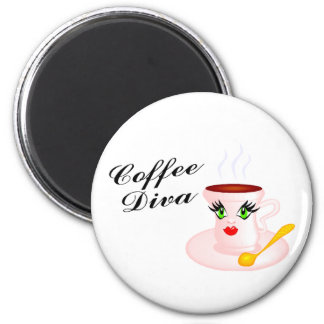 Coffee Diva Magnet