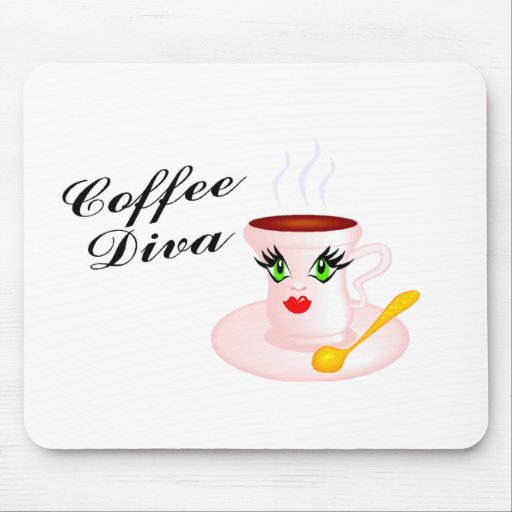 Coffee Diva Mouse Mats