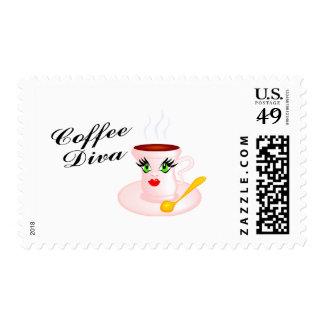 Coffee Diva Stamp
