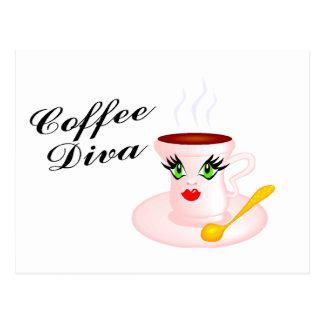 Coffee Diva Postcards
