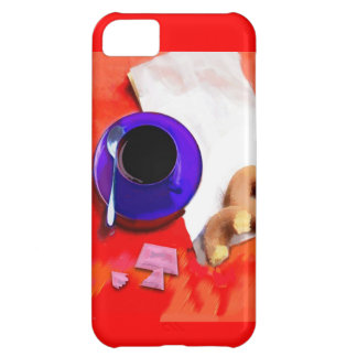 Coffee, Donuts and Low Cal Sweetener Cover For iPhone 5C
