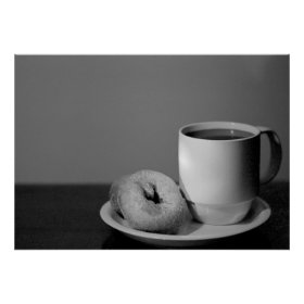 Coffee & Donuts Print