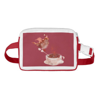 Coffee dragon fanny pack