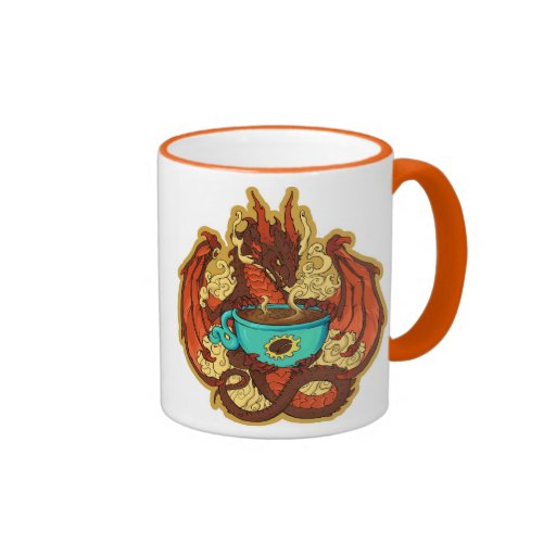 coffee dragon mug zazzle